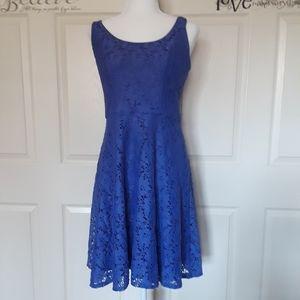 Luxe Lace Sleeveless Dress